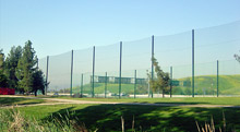 Protective Fairway Netting