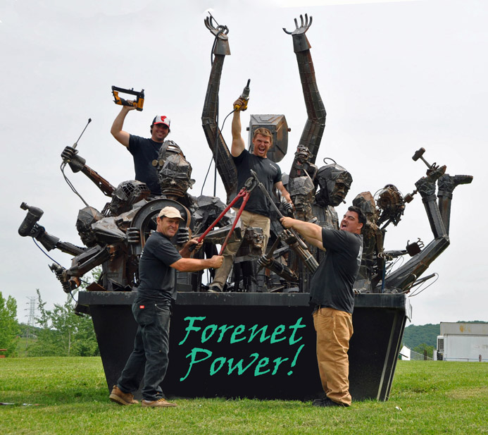 The ForeNet Crew