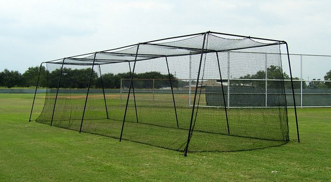 baseball and sports netting installed by forenet complete barrier